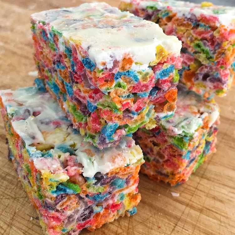 Fruity Pebbles Cereal Bars